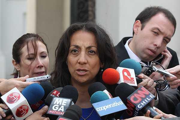 Vocera de Gobierno critica a Cheyre por dudas sobre la ley en materia electoral