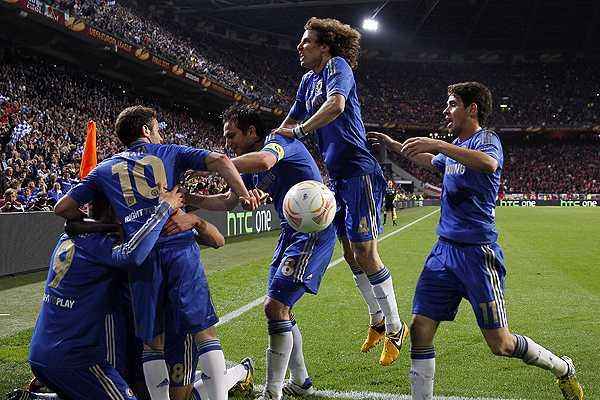 Chelsea hace historia al ganar en la agon�a la Europa League ante el Benfica