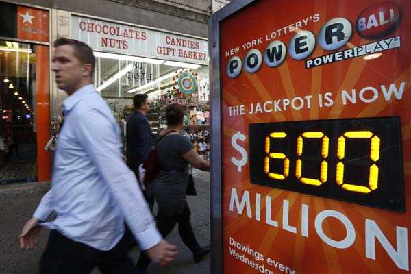 Pozo de la loter&#237;a Powerball en EE.UU. alcanza los 600 millones de d&#243;lares 