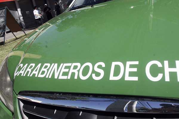 Ladrones se apoderaron de numerosos rev&#243;lveres que transportaba veh&#237;culo de Carabineros