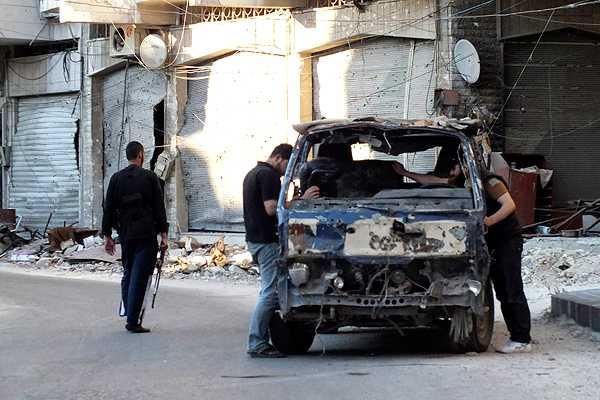 Londres inform� a la ONU de nuevos casos de uso de armas qu�micas en Siria