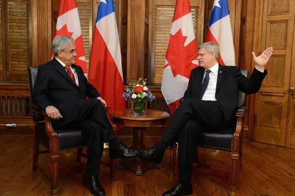 Chile y Canad� renuevan y ampl�an el Tratado de Libre Comercio entre ambos pa�ses