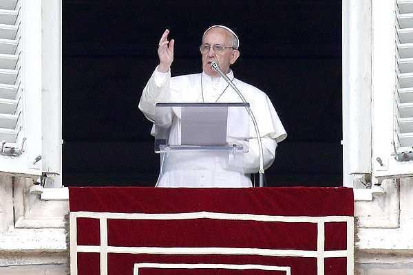 Papa Francisco deplora el conflicto en Siria y aplaude los avances en Latinoam�rica