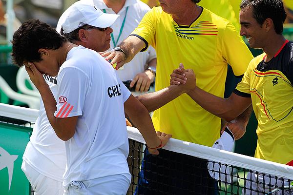 Pese a que ante Ecuador perdi� sus dos singles, dej� una buena impresi�n.