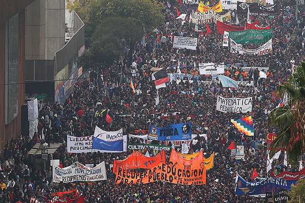 Pi�era previo a marcha estudiantil: 'Nadie tiene derecho a destruir ni atentar contra Carabineros'