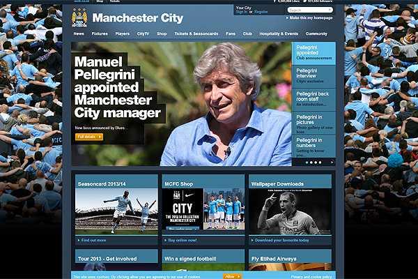 Manchester City oficializa a Pellegrini como su nuevo entrenador
