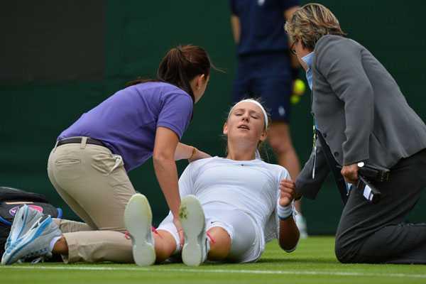 Wimbledon: M�ltiples lesiones y retiros gatillan fuerte controversia