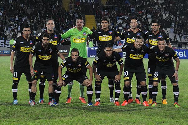 La primera formaci�n de la nueva era de Gustavo Ben�tez en Colo Colo.