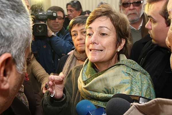 Josefa Err�zuriz dice que cambio de se�al�ticas por Nueva Providencia ser� este mes
