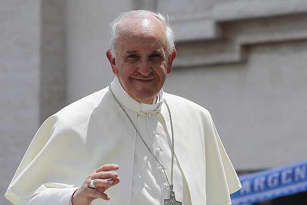 Papa Francisco llam� a sacerdotes y religiosas a 'vivir modestamente'