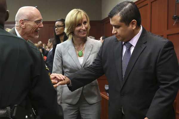 Absuelven a Zimmerman de cargos de asesinato en segundo grado y homicidio