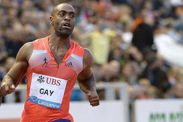 Velocista estadounidense Tyson Gay anunci� que dio positivo por doping