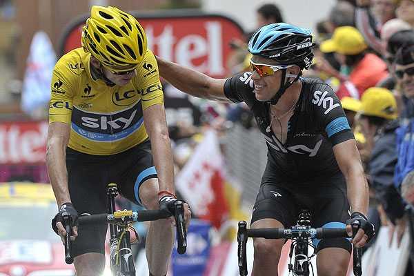 Tour de Francia: Sancionan a Froome con 20 segundos por recibir ayuda en ascenso