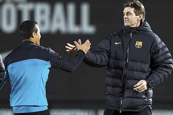 Con partida de Vilanova, S�nchez pierde su principal sost�n en el Barcelona