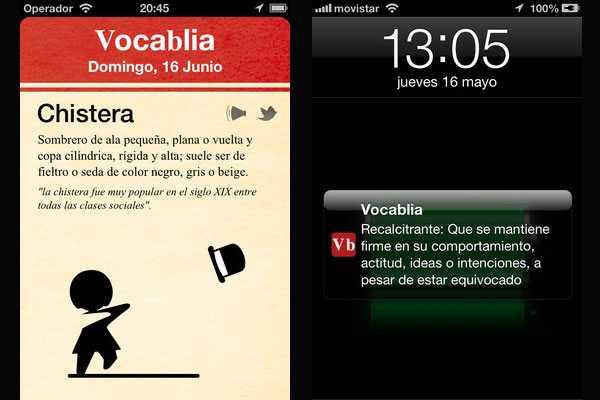 'Vocablia': Una aplicaci�n chilena para aprender una nueva palabra todos los d�as