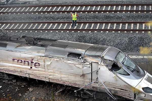 Gobierno espa�ol: Maquinista de tren fue detenido por  'homicidio por imprudencia'