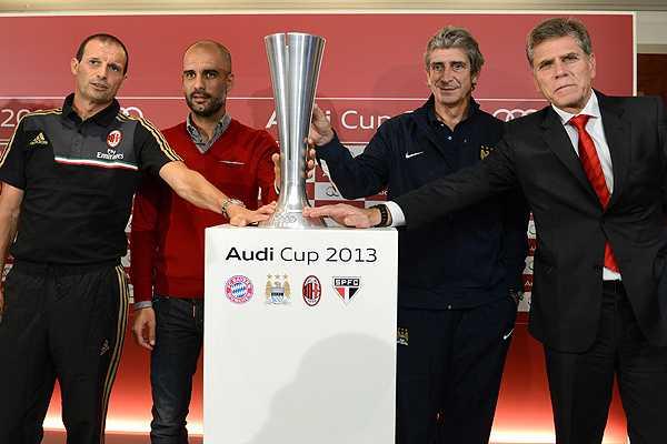 Resultados de la Copa Audi: Bayern enfrentar� al City de Pellegrini en la final