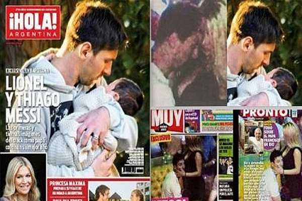 En Espa�a aseguran que fotos comprometedoras de Messi son falsas