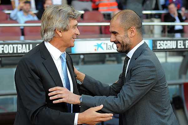 Manuel Pellegrini se reencontrar� con Josep Guardiola en la final de la Copa Audi