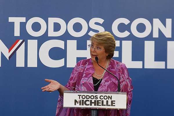 Bachelet reconoce que esta vez el sistema binominal 'benefició' a la Nueva Mayoría