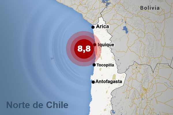 Expertos describen cómo podría ser el terremoto anunciado para el norte chileno
