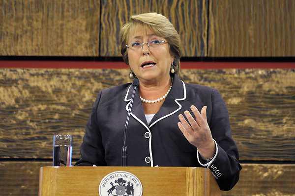 Bachelet llamó al Congreso a 'legislar con celeridad y seriedad' sobre Reforma Tributaria