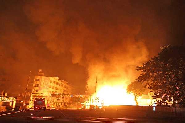 Explosión en gasoducto en Taiwán: Al menos 15 muertos y 228 heridos